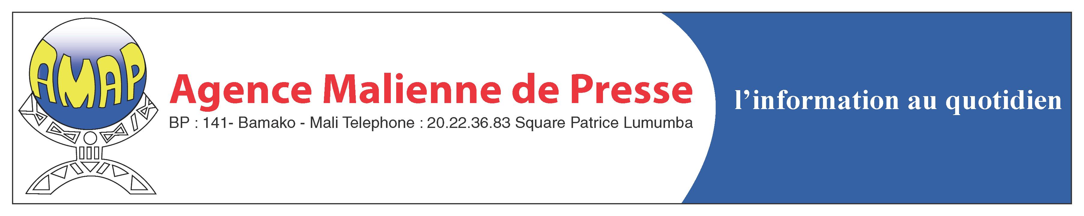 Agence Malienne de Presse et Publicité Logo