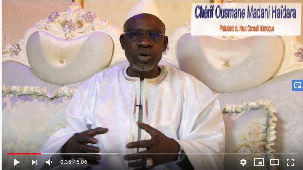 Ousmane Chérif Madane Haïdara : Les auteurs des tueries au Mali ne sont pas des musulmans