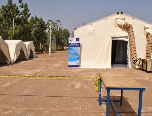 L'Union européenne fournit au Mali un camp mobile sécurisé pour sécurisation des Régions au Centre