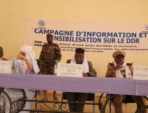 Mopti : Lancement de la campagne d'information et de sensibilisation sur le DDR